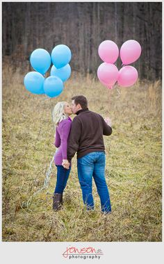 gender reveal photo ideas
