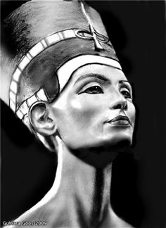Nefertiti - I reckon she's one of the most beautiful queens in history