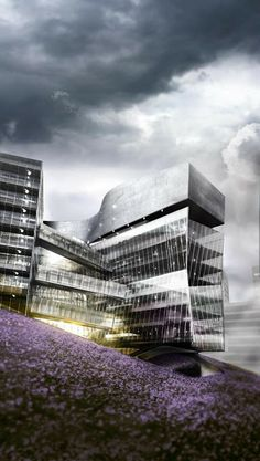 Gráficos de Arquitectura 3d: U.S. Embassy in London | Morphosis | Arquitectura 3d