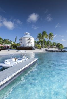 Another Caribbean gem, Club Med Buccaneer's Creek. Set sail or paddle board from here.