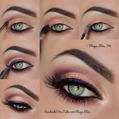 Pink Eyeshadow Tutorial - #eyemakeup #eyes #makeup #eyeshadow - bellashoot.com