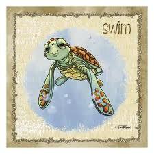 sea turtle print baby room - Google Search