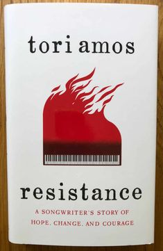 Resistance by Tori Amos. Medium format hardback in new condition. Signed by Tori Amos to front end page. Political Songs, Little Earthquakes, Tori Amos, Playing Piano, Latest Albums, Music Books, Music Industry, New Books, Politics