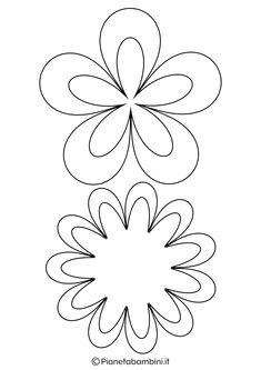 Risultati Immagini Per Margherita Disegno Da Colorare Ricette