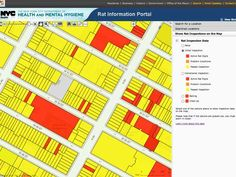 Rats! Open data tells New York City residents where the vermin are - and aren't (Image credit: NYC Department of Health)