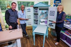 Ken continues to show you how to build your own sewing armoire and shows you the final results!