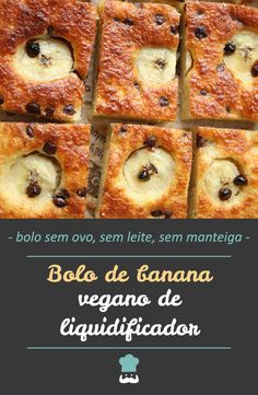 Banana cake without egg, without milk and without butter - This vegan banana cake is all good even though it is prepared without egg, without milk and without - Veggie Recipes, Vegetarian Recipes, Healthy Recipes, Vegan Candies, Going Vegan, Food And Drink, Veggies, Cooking, Breakfast