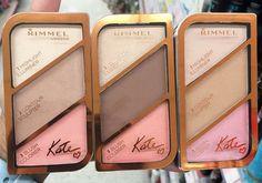 rimmel contour kit - Google Search Covergirl Makeup, Drugstore Makeup Dupes, Makeup Swatches, Makeup Brands, Makeup Cosmetics, Best Makeup Products, Beauty Products, Contouring Makeup, Strobing