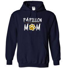 PAPILLON mom love dog