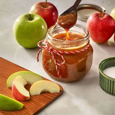 Salted Caramel Apple Dippers