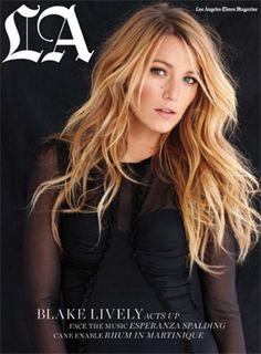 Blake Lively covers LA Times Magazine June 2012
