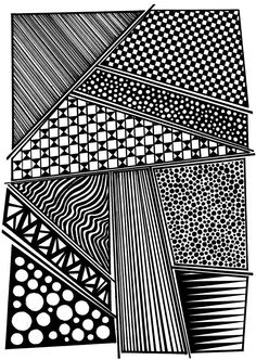 Geometrical Design Drawing  8.3x11.7 A4 by EnchantedCrayons, $15.00