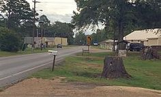 scene of Thaxton, Mississippi  Pontotoc County