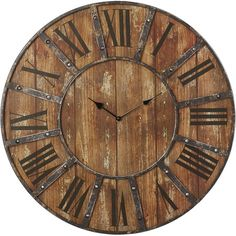Found it at Joss & Main - Freya Wall Clock