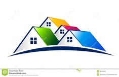 Houses. Real Estate Logo