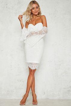 My Lover Dress White