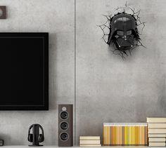 DARTH WALL   Gostou? Use um adesivo para criar este efeito e desperte seu lado negro na decoração!  #TecnisaDecor #StarWars #StarWarsDay #Inspire-se #Tecnisa Foto: RoomDecorIdeas