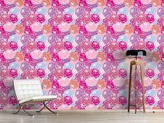 Design #Tapete Rosen Bouquet