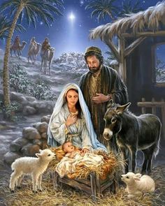 Remember the true meaning of Christmas with this beautiful puzzle. This gorgeous piece of artwork depicting the birth of Jesus and the coming of the 3 wise men is a truly awe-inspiring puzzle. Springbok Savior is Born Jigsaw Puzzle Christmas Nativity Scene, Christmas Scenes, Christmas Pictures, Christmas Crafts, Nativity Scenes, Nativity Scene Pictures, The Nativity, Merry Christmas Quotes, Christmas Printables