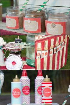 Hot Chocolate Bar for Christmas Birthday Party www.spaceshipsandlaserbeams.com