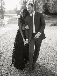 ".via ""The Royal Family"" on Facebook | Prince Harry & Meghan's Engagement Photos."