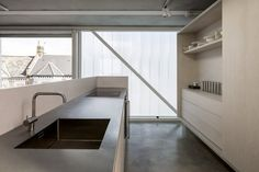 Architecture Slip House Design by Carl Turner Architects Modern Architecture Design Ideas