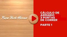 Cálculo de Armário 3 Portas de Correr 1/7 - 1ªs Medidas - Curso -  Elias...