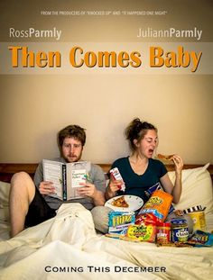 Creative pregnancy announcement!