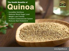 Do you want to remain healthy and fit? Include uqinoa in your diets to get the overall fitness