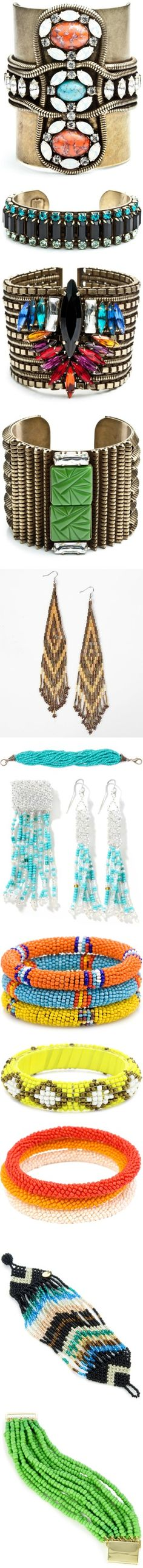 """""""Beaded Jewelry"""" by witchy13 ❤ liked on Polyvore"""
