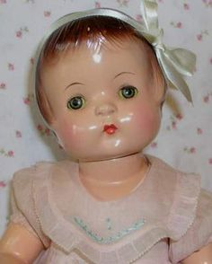 """1930s Effanbee 19"""" Patsy Ann Doll All Original 2 Outfits"""