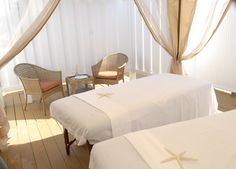 "Get away and get closer! Enjoy our signature ""couples massage."""