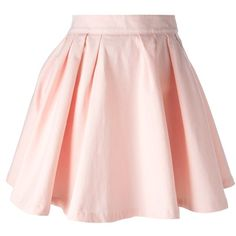 MAISON ABOUT high waisted skater skirt ($160) ❤ liked on Polyvore featuring skirts, bottoms, saias, jupes, flared skirt, pink skirt, pink circle skirt, high waisted flared skirt and high waisted pleated skirt