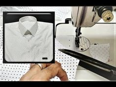 How to cutting a shirt in easy method Step by step measurement given in video any problem u write in comment i will reply . Thank you for watching Please SUB. Gents Shirts, Boys T Shirts, Sewing Jeans, Sewing Clothes, Sewing To Sell, Free Sewing, Sewing Hacks, Sewing Projects, Stitch Shirt