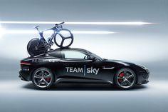 Jaguar Builds F-TYPE Concept to Support Team Sky in Tour de France Stage 20