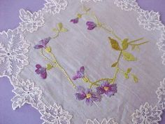 Beautiful Little Antique Society Silk by Moonmaidenemporium