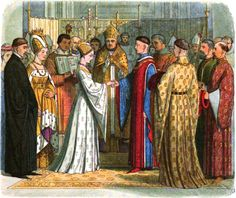 Henry V of England weds Catherine of Valois in 1420.