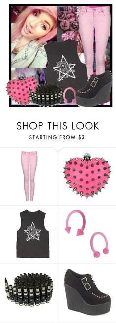 """""""Pastel Goth"""" by the-house-of-wolves ❤ liked on Polyvore featuring Replay and My Little Pony"""