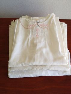 Vintage baby gowns circa 1930 - 1940.