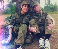 Norway Women | Norwegian women in the military