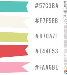 Color Inspiration 15 by Just Jaimee