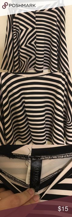 Mini Skirt For Women It's Because My Birthday Month I will Drop The Price Again Start This Week until Next Week If You Will Buy For Two I will Give More Discount            Mini Skirt Black And White Stripe No Dittect Good Condition Use Only 1 Time I used This For The Christmas Party Only 1 Time Day Still Good Condition Skirts Mini