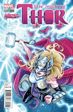 THE MIGHTY THOR #5  Marvel Comics Modern Age Comic book covers Super Heroes  Villians