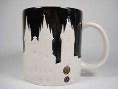 Prague relief mug from Starbucks - another mug I want!