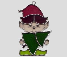 Stained Glass Art by Glass Illusions - Christmas Hangings Stained Glass Cookies, Stained Glass Ornaments, Stained Glass Christmas, Stained Glass Suncatchers, Stained Glass Crafts, Faux Stained Glass, Stained Glass Designs, Stained Glass Patterns, Glass Christmas Ornaments