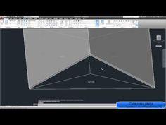 Modelando um Telhado 4 Águas no AutoCAD