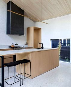Clare Cousins Architects Created Addition to an Edwardian Cottage - InteriorZine