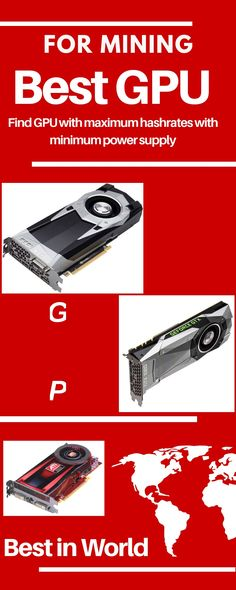 Find out Best GPU for Mining in Nvidia GeForce GTX. If you are Searching for the best mining GPU then you should go through our detailed updated list. Best Gpu, Ethereum Mining, Mining Equipment, Crypto Mining, Bitcoin Mining, Cryptocurrency, Investing Money, Forex Trading, Personal Finance