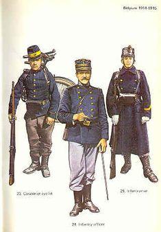 belgium uniform 1918 - Google Search