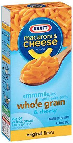 Whole Grain Macaroni & Cheese or Pasta